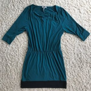 Laundry By Design Teal Dress. Size medium.